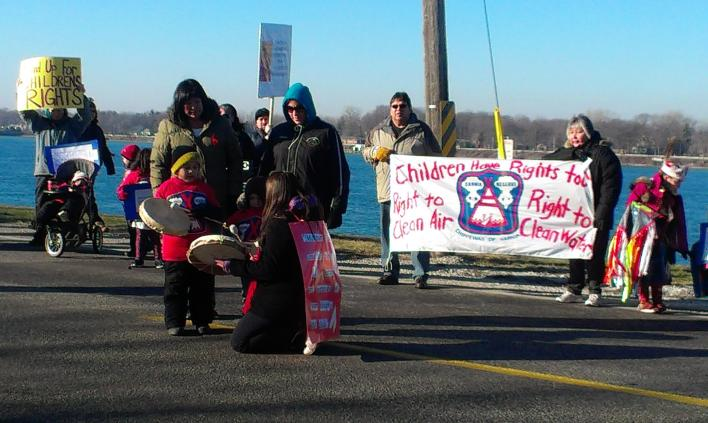 Daycare Children March after Benzene Spill