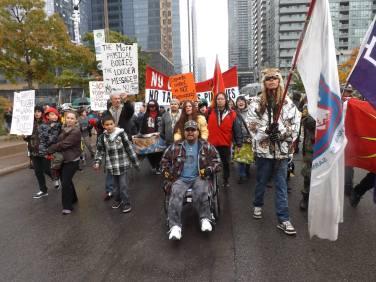 Idle No More March Toronto