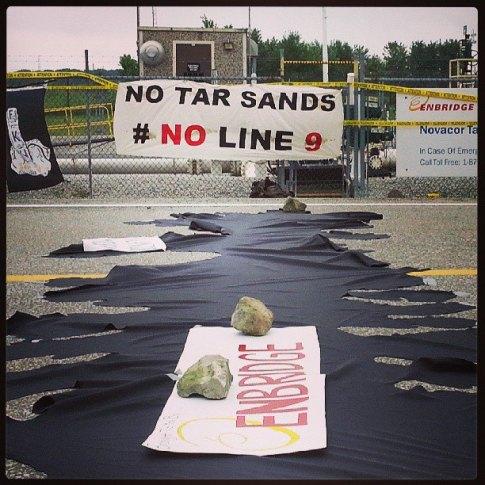Anniversary of Line 6B Spill